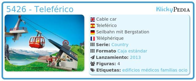 Playmobil 5426 - Teleférico