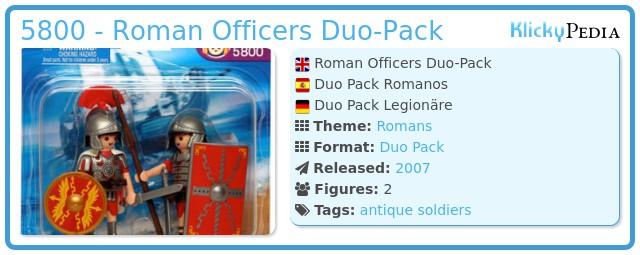 Playmobil 5800 - Roman Officers Duo-Pack