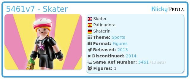 Playmobil 5461v7 - Skater