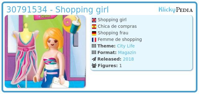Playmobil 30791534 - Shoping girl