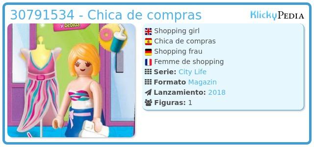 Playmobil 30791534 - Chica de compras