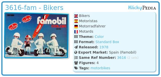 Playmobil 3616-fam - Bikers