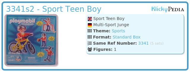 Playmobil 3341s2 - Sport Teen Boy