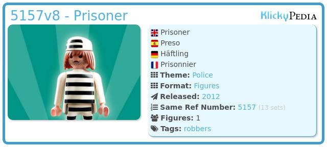 Playmobil 5157v8 - Prisoner