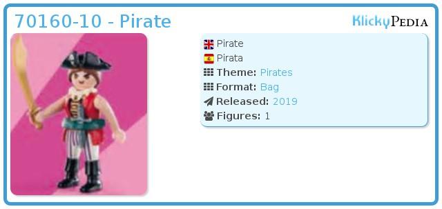 Playmobil 70160-10 - Pirate