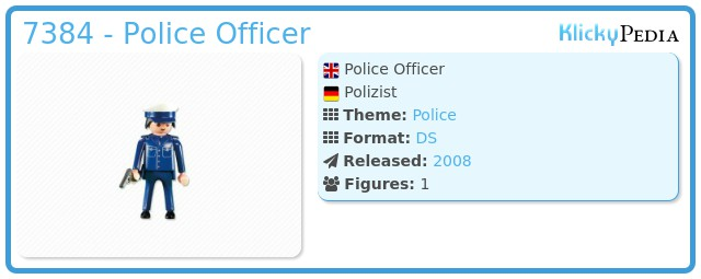 Playmobil 7384 - Police Officer