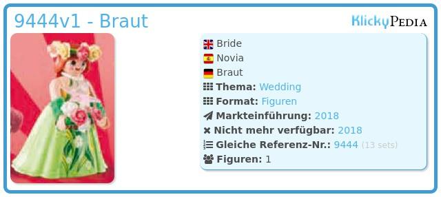 Playmobil 9444v1 - Braut