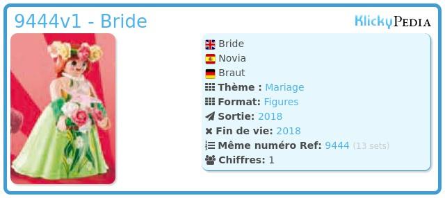 Playmobil 9444v1 - Bride