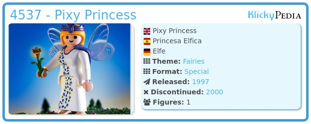 Playmobil 4537 - Pixy Princess