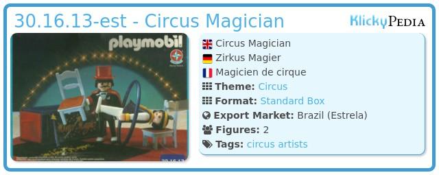 Playmobil 30.16.13-est - Circus Magician
