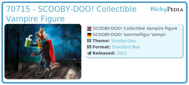Playmobil 70715 - SCOOBY-DOO! Vampire Action Figure