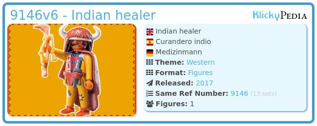 Playmobil 9146v6 - Indian healer