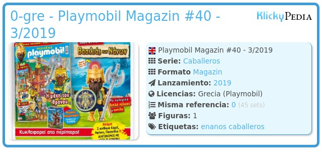 Playmobil 0-gre - Playmobil Magazin #40 - 3/2019
