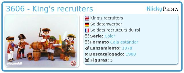 Playmobil 3606 - King's recruiters