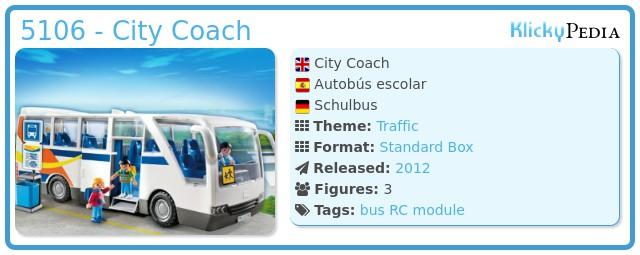 Playmobil 5106 - City Coach
