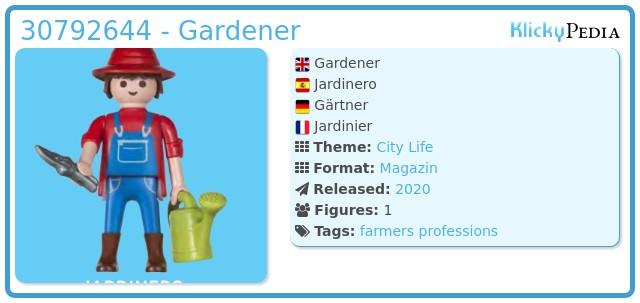Playmobil 30792644 - Gardener