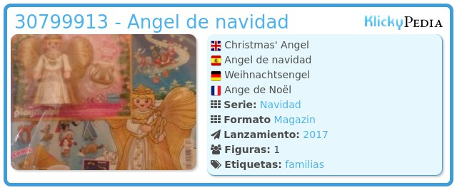 Playmobil 30799913 - Angel de navidad
