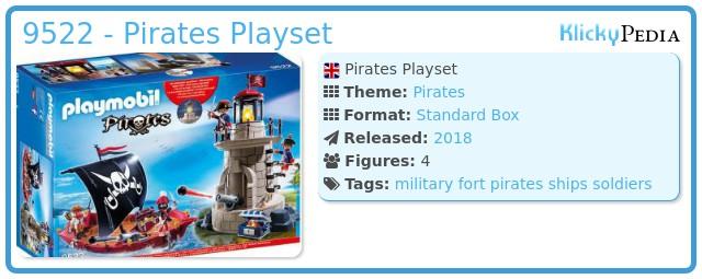 Playmobil 9522 - Pirates Playset