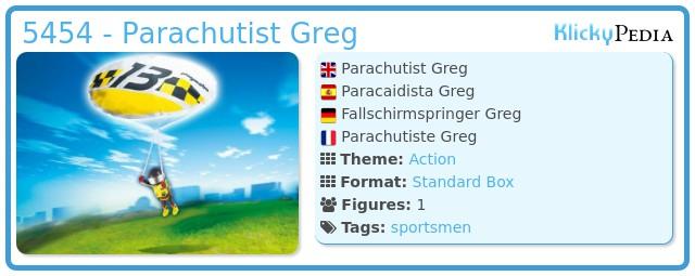 Playmobil 5454 - Fallschirmspringer #2