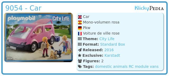 Playmobil 9054 - Car