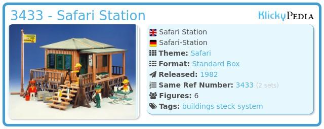 Playmobil 3433 - Safari Station