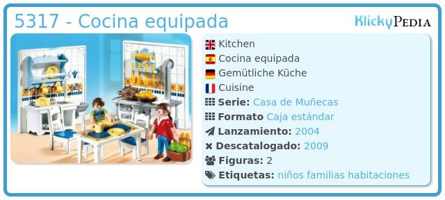 Playmobil 5317 - Cocina equipada