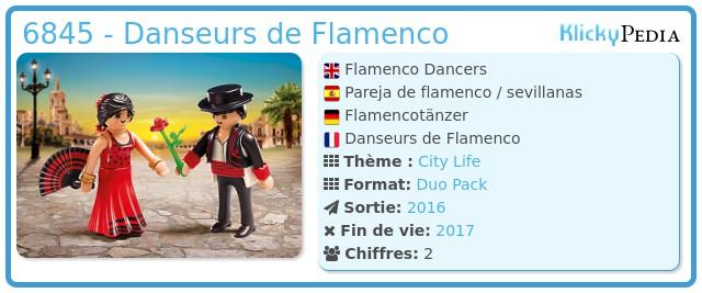 Playmobil 6845 - Danseurs de Flamenco