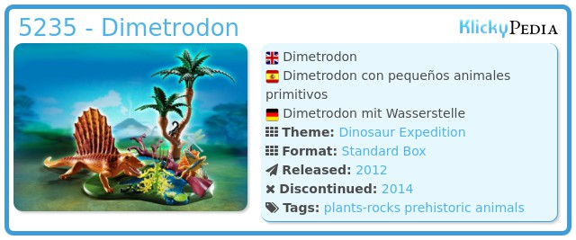 Playmobil 5235 - Dimetrodon