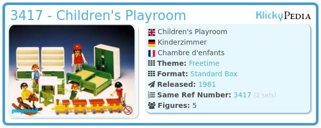 Playmobil 3417 - Children's Playroom