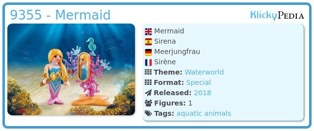 Playmobil 9355 - Mermaid