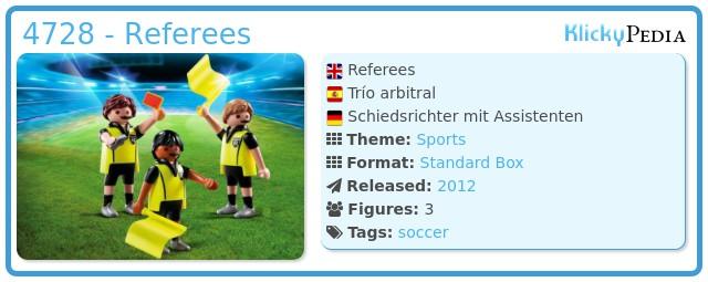 Playmobil 4728 - Referees