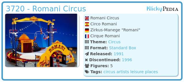 Playmobil 3720 - Romani Circus
