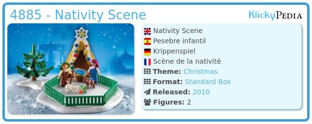 Playmobil 4885 - Nativity Scene