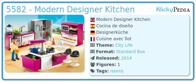 Playmobil 5582 - Modern Designer Kitchen