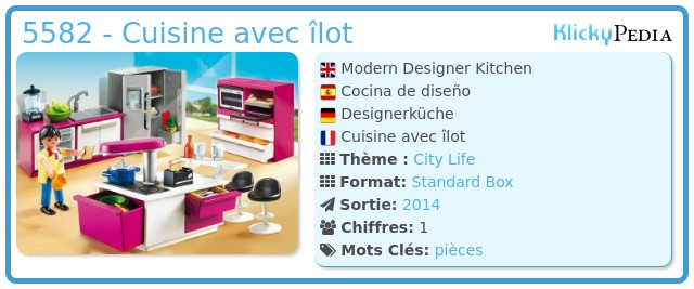 Playmobil 5582 - Cuisine