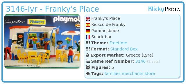Playmobil 3146-lyr - Franky's Place