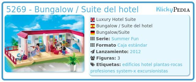 Playmobil 5269 - Bungalow / Suite del hotel