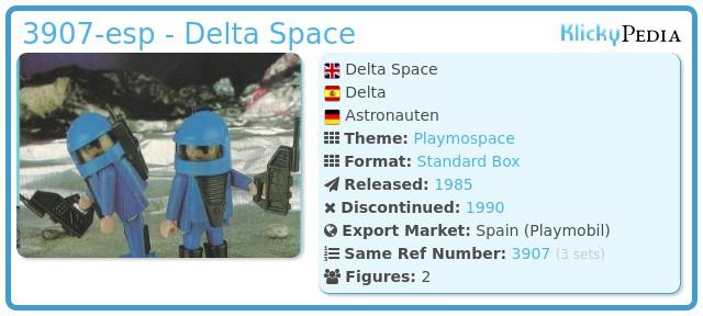 Playmobil 3907-esp - Delta Space