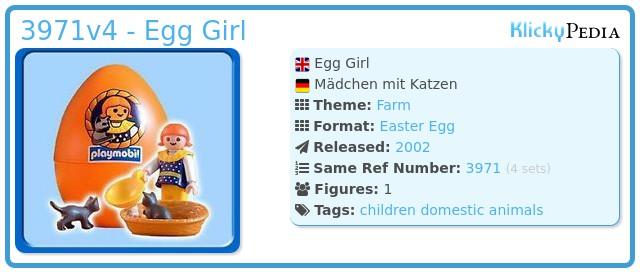 Playmobil 3971v4 - Egg Girl