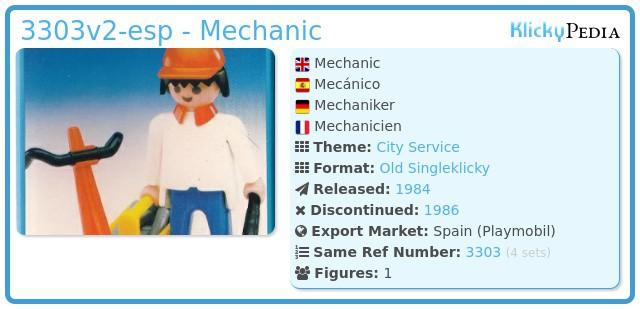 Playmobil 3303v2-esp - Mechanic