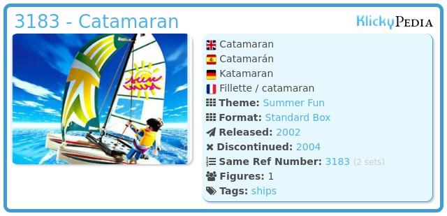 Playmobil 3183 - Catamaran
