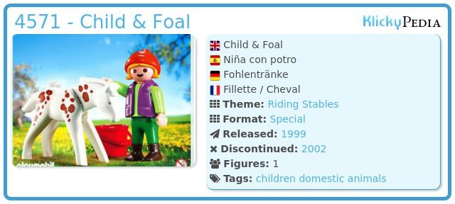 Playmobil Niña con potro Mädchen mit Pony Girl with Pony apple