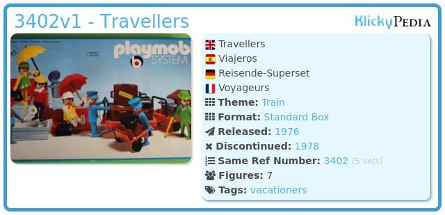Playmobil 3402v1 - Travellers