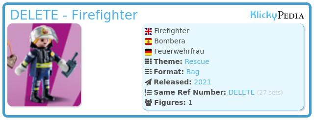 Playmobil 70149-08 - Firefighter