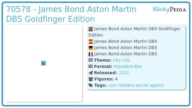 Playmobil 70578 - James Bond Aston Martin DB5