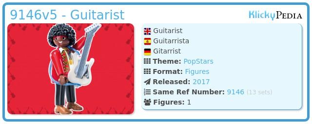 Playmobil 9146v5 - Guitarrist