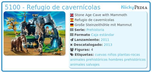 Playmobil 5100 - Refugio de cavernícolas