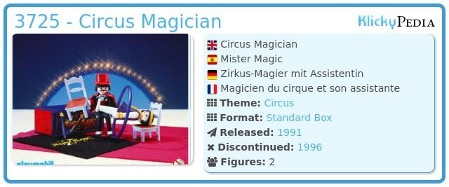 Playmobil 3725 - Circus Magician