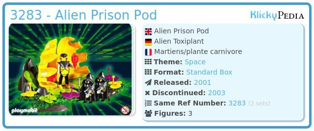 Playmobil 3283 - Alien Prison Pod