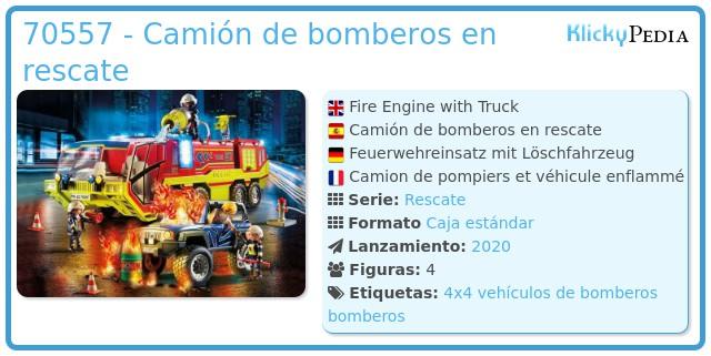Playmobil 70557 - Fire Truck